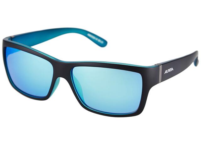 Alpina Kacey - Lunettes cyclisme - bleu/noir